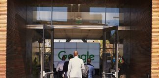 Google Pay entrée Google
