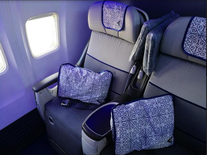 Air Astana assure jusqu'à trois vols par semaine depuis Paris CDG