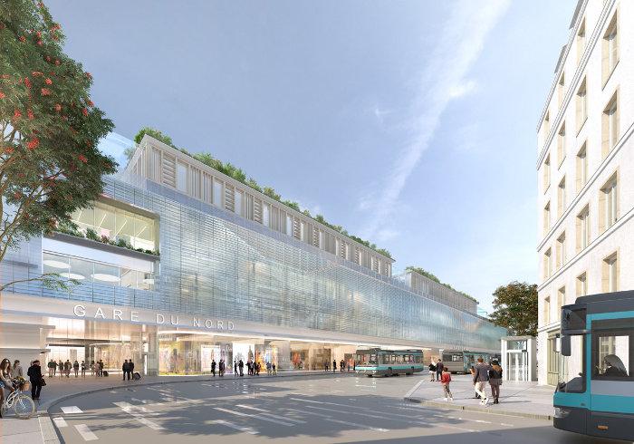 Un terminal de bus repensé ©SNCF Gares&Connexions – Ceetrus – Valode & Pistre Architectes