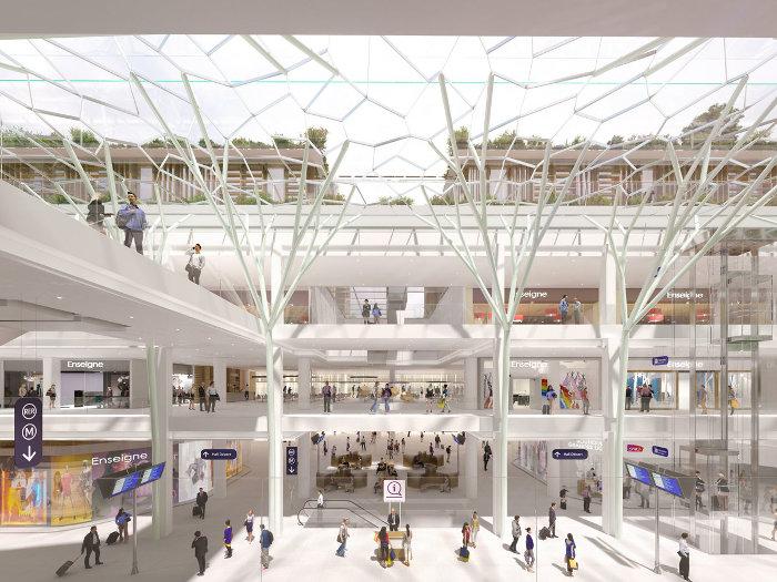 Une accessibilité renforcée pour les transports en commun ©SNCF Gares&Connexions – Ceetrus – Valode & Pistre Architectes