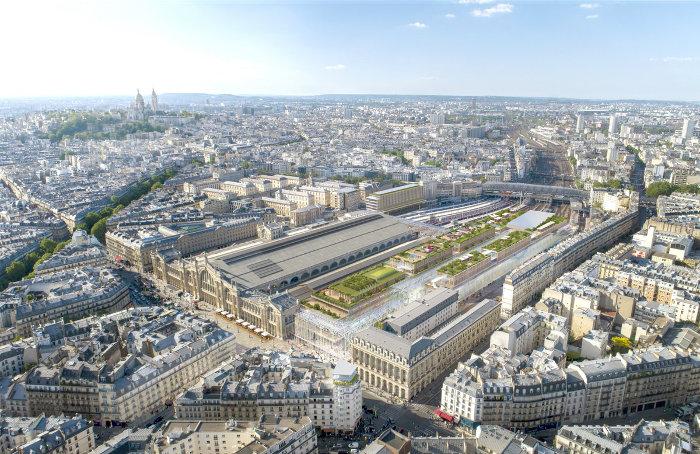 Paris la gare du nord va tripler de taille pour les jo - Bureau de change paris gare de l est ...