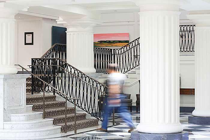 L'InterContinental Barclay, un très chic hôtel de gare, associé depuis 1926 à la sublime Grand Central Station.