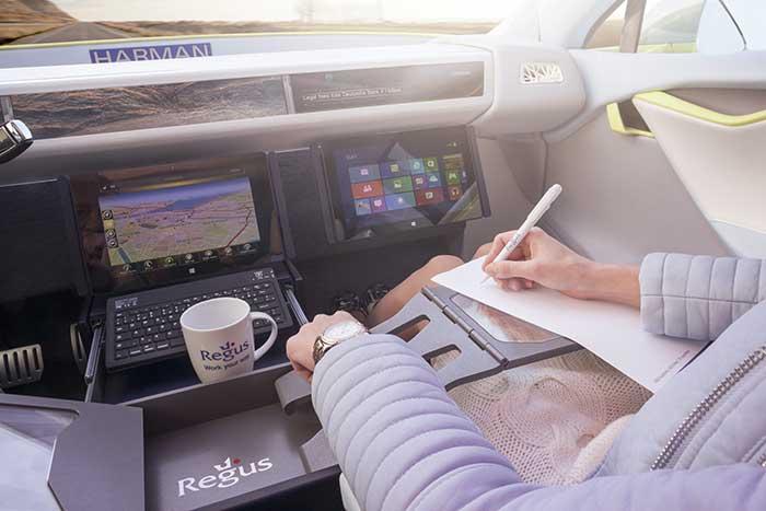 L'automobile devient un deuxième bureau