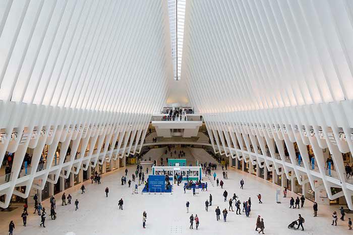 New York-Oculus gare