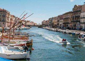 Occitanie Sete canal royal