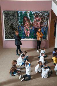 À Sète, le musée Paul Valéry, en plus de consacrer une salle à l'œuvre de l'écrivain, offre une place importante aux artistes de la région des XIXe et XXe siècles, notamment Robert Combas. ©Photos Alain Parinet