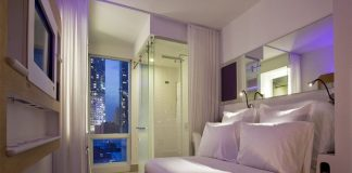 Glasgow Yotel New York cabine