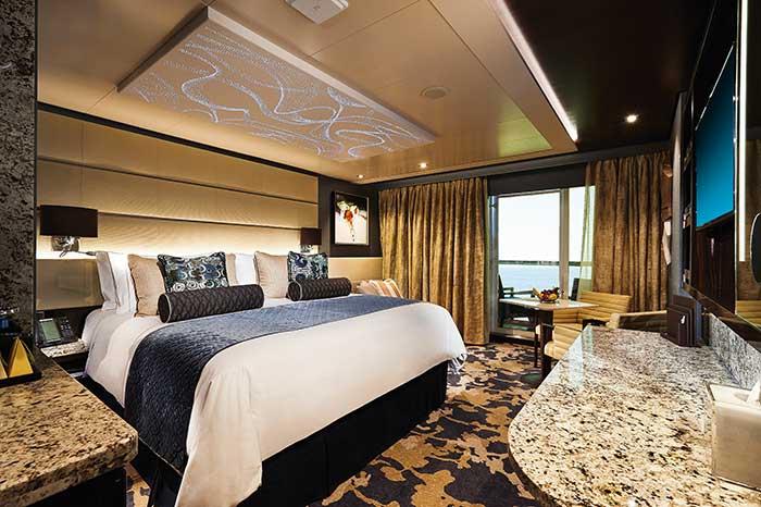 Norwegian Cruise Line modernise sa flotte avec des navires plus moins polluants, mais aux cabines toujours haut de gamme.© Norwegian Cruise Line