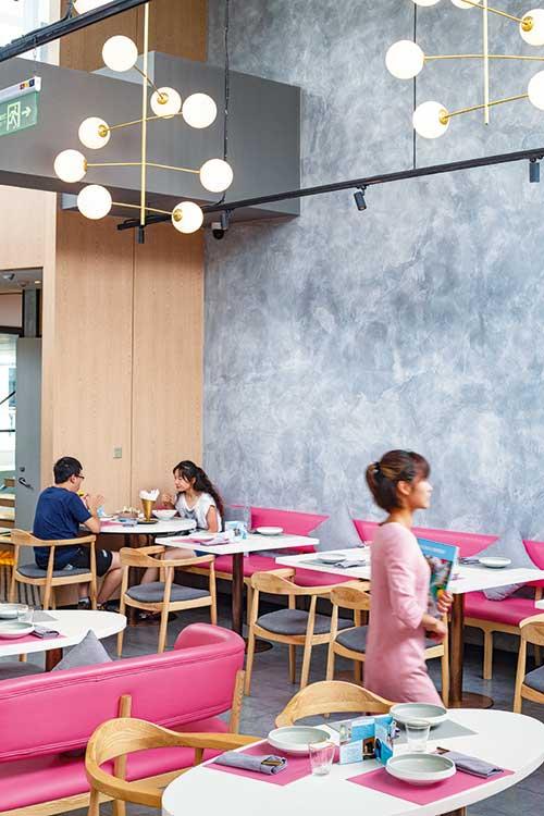 Hulu, des plats à partager dans un cadre trendy, dans le ton du quartier de Sanlitun.