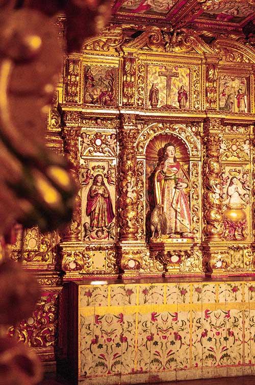 Hébergé dans l'ancien évêché, le musée de Lamego expose quatre chapelles sublimement baroques auparavant installées dans le couvent des Chagas de Lamego.