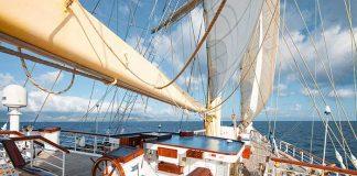 Le souffle du vent pour moteur principal : réinventant les beaux jours de la marine à voile, le Star Clipper sillonne tout en douceur les mers chaudes des Caraïbes et d'Asie ainsi que les flots bleus de la Méditerranée.© Star Clipper