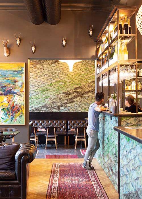 """La chaîne danoise Guldsmeden retranscrit à Berlin le """"hygge"""", art de vivre scandinave et chaleureux."""