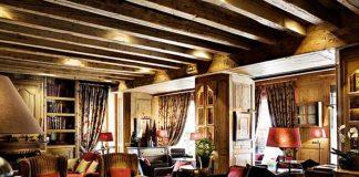 Cocteau fut un de ses habitués, Roger Vadim y tourna des scènes des Liaisons dangereuses. L'hôtel Mont Blanc de Megève, du groupe Sibuet, fait partie de ces stars hivernales au savoir-vivre étudié, mêlant styles savoyard, autrichien et anglais.© G. de Laubier