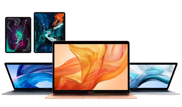 iPad Pro et MacBook Air