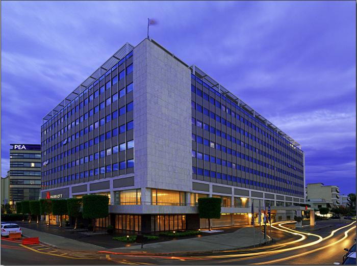 L'ouverture de l'hôtel Marriott incarne la renaissance d'Athènes en tant que destination business
