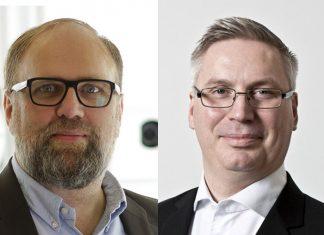 Manfred Ostermeier, fondateur et Président du Conseil de Surveillance de Botspot (www.botspot.de) et Vincent Sabot, CEO de Sigfox Germany