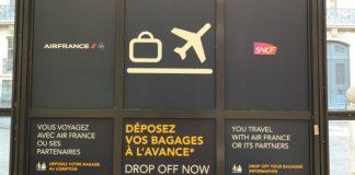 Un dépose bagages en gare du Nord
