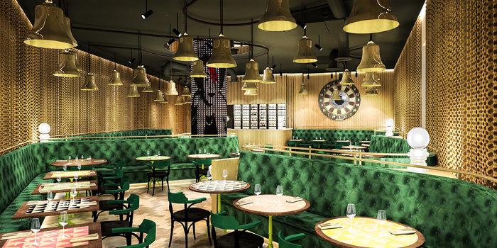 Le restaurant du futur nhow de Londres. (c) Project Orange