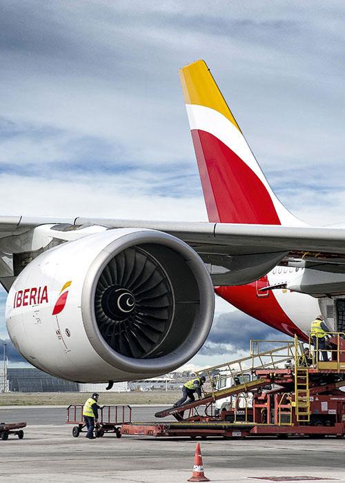 Les relations entre l'Espagne et l'Amérique latine font d'Iberia le transporteur phare vers cette région.© Iberia