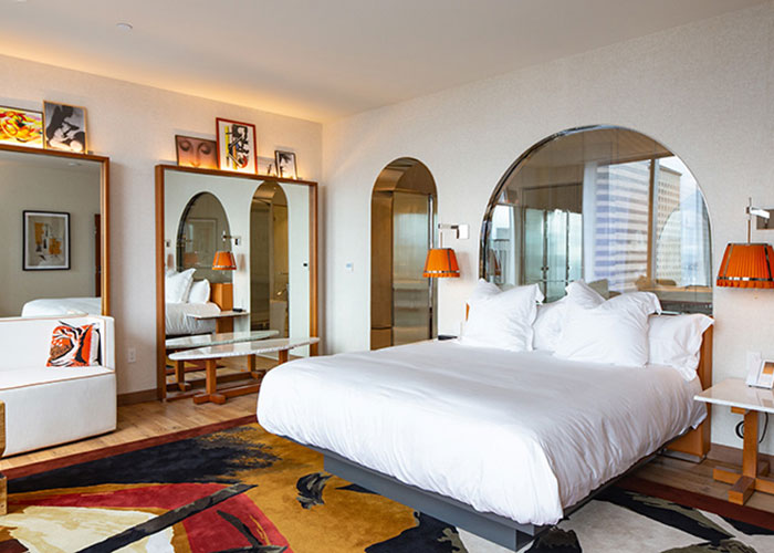 Seattle, parmi les nombreux développements en cours, verra bientôt l'ouverture d'un nouveau boutique hôtel sobre et chic, l'Audrey, designé par Philippe Starck.