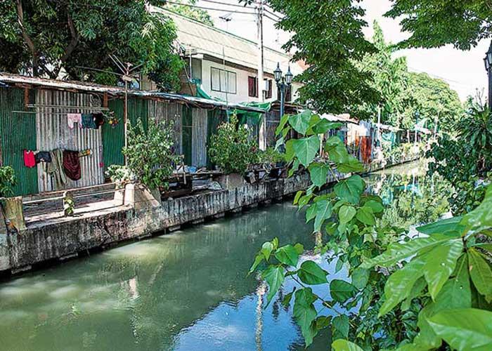 Les klongs, labyrinthes de canaux striant la capitale thaïlandaise, offrent des moments de tranquillité bercée de verdure tropicale, bien loin de l'urbanité trépidante.