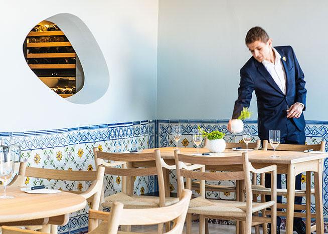 Epur séduit par la cuisine inventive de son chef Vincent Farges. Sans doute un futur étoilé.