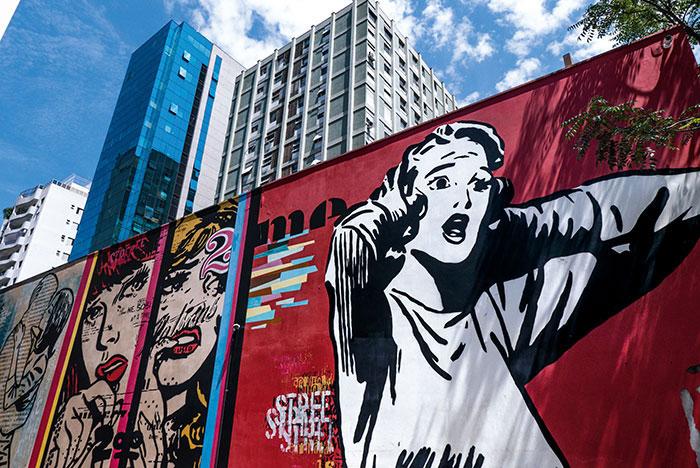 Une des capitales mondiales du street art