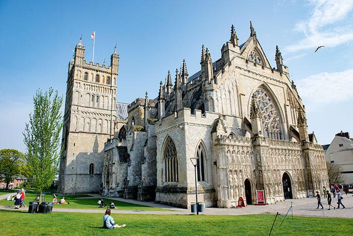 Cathédrale d'Exeter