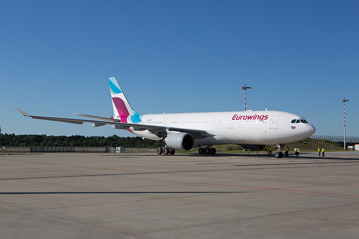 Eurowings se positionne aussi bien sur les lignes de point à point en Europe que sur le long-courrier.