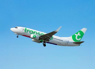 Si Air France a revu sa stratégie pour Hop et Joon, elle compte pleinement sur sa filiale low cost Transavia, en pleine croissance. © transavia