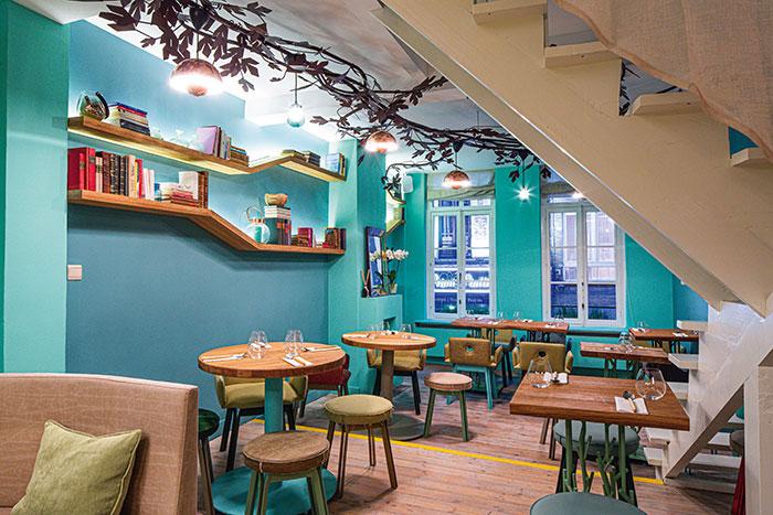 Senzanome, un restaurant étoilé considéré comme une des meilleures tables italiennes hors d'Italie.