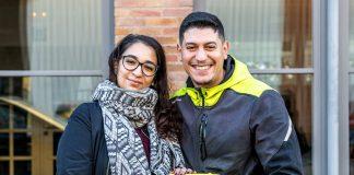 Nahla el Mernissi et Imad Mouakkat, cofondateurs et gérants d'Enprobel