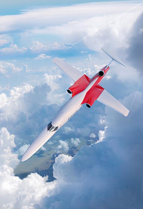 Jet d'affaires Aerion soutenu par Boeing,