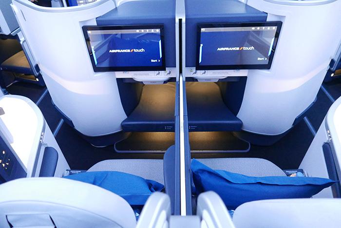 L'A350 d'Air France et équipé de 34 sièges en cabine business