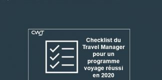CWT checklist du Travel Manager