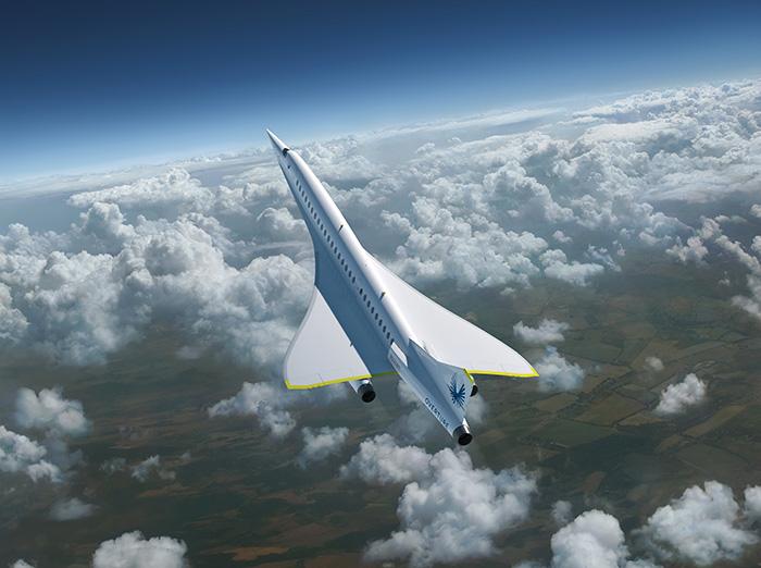 L'Overture Boom Supersonic en cours de développement chez Virgin Atlantic
