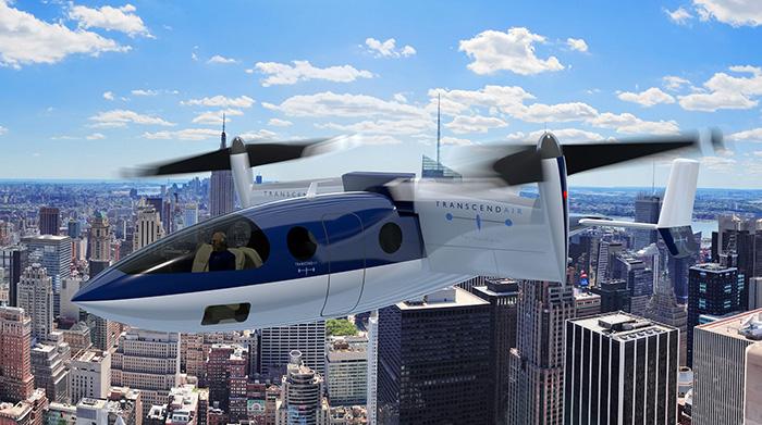 Comme Transcend Air avec son avion à décollage et atterrissage vertical, de nombreux acteurs parient sur un nouveau mode de transport urbain, allant de centre-ville à centre-ville par la voie des airs.