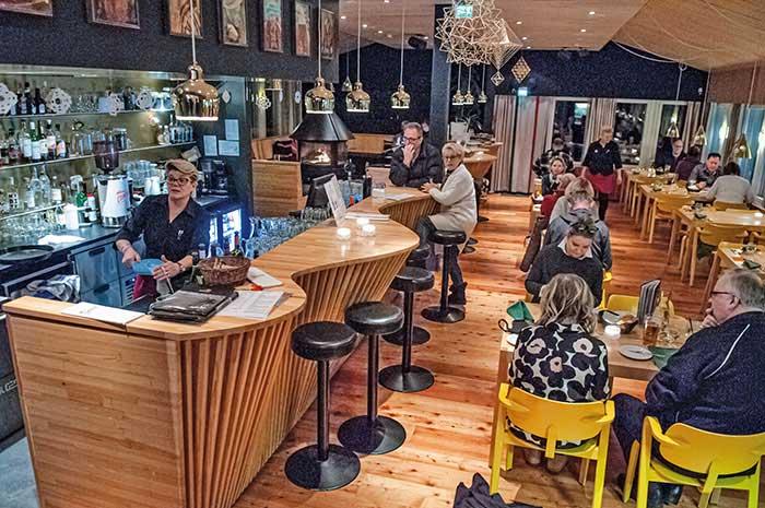 Le restaurant Aanaar, multirécompensé pour sa cuisine inventive et locale.