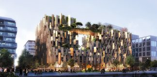 Copyrights Kengo Kuma & Associates image by LUXIGON