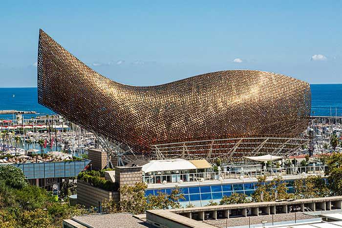 Le Poisson, de Franck Gehry