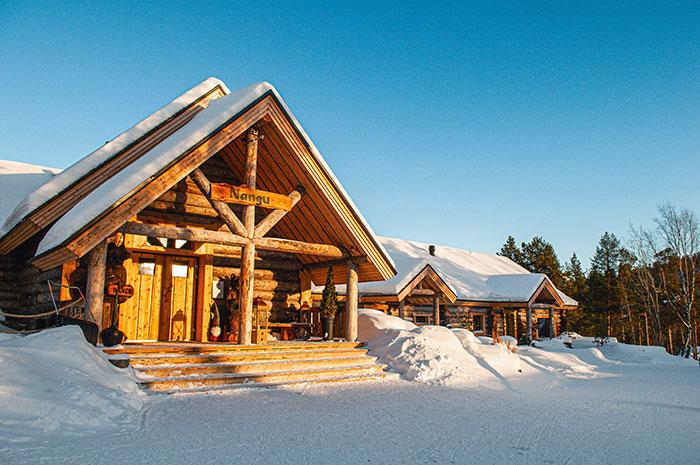 Le Wilderness Nangu, un boutique hôtel à l'esthétique inspirée de la culture sami.