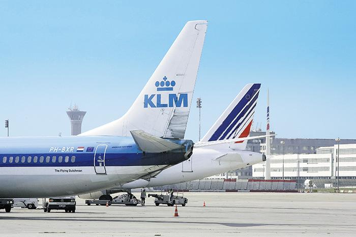 Le nouveau plan stratégique présenté par la direction d'Air France-KLM entend clarifier le positionnement du groupe autour de trois marques : Air France sur le segment premium, KLM pour le trafic en correspondance et le low cost avec Transavia.©Air France-KLM