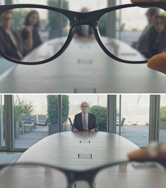 Les lunettes de réalité mixte font apparaître les collaborateurs sous forme d'hologrammes.