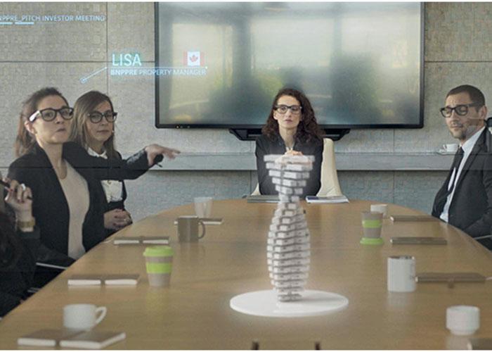 Réunir des participants éloignés, manipuler des maquettes en 3D : le projet DARE facilite la présentation à distance de programmes immobiliers.