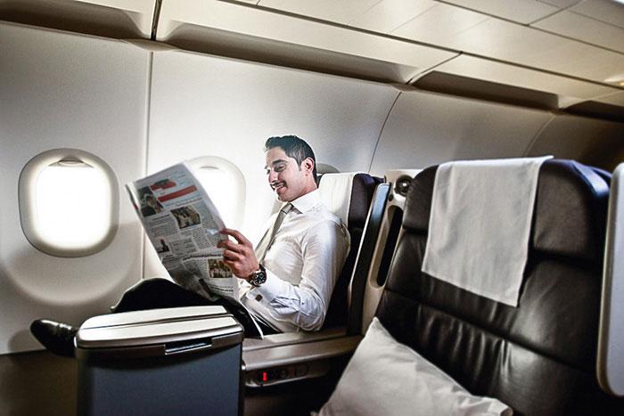 Gulf Air, compagnie commune à plusieurs états du Golfe à l'origine, a perdu son côté multinational sous le coup des ambitions aériennes d'Abu Dhabi, du Qatar et de Dubai. Elle se concentre aujourd'hui sur son seul hub de Manama, à Bahrein.© Gulf Air