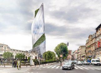 La tour Occitanie, dessinée par Daniel Libeskind, est attendue en 2022.© Luxigon