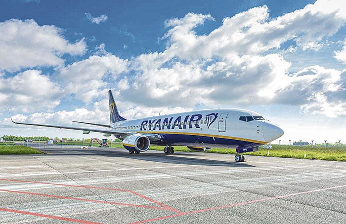 Une marque unique, mais partout présente : Ryanair a popularisé le modèle low cost en Europe.© Ryanair