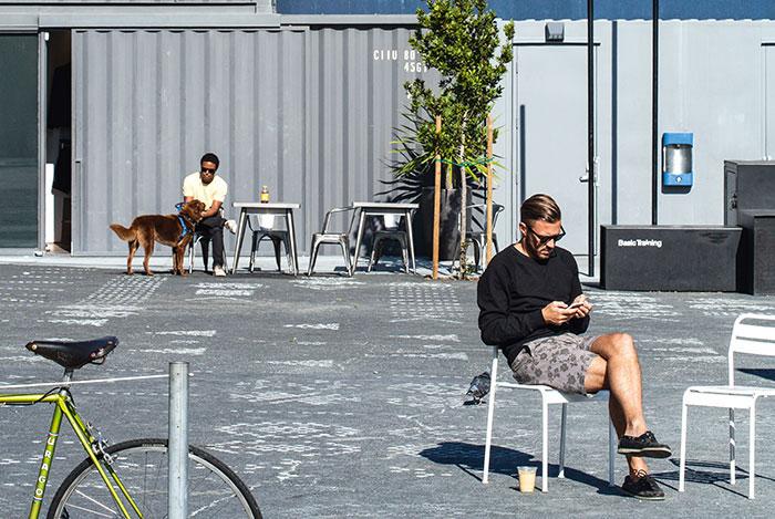 """San Francisco - Alors que les """"licornes"""" de la Silicon Valley se battent pour retenir les meilleurs talents, elles privilégient de plus en plus une implantation au cœur de la ville, dans le quartier central du SOMA. Un moyen d'éviter de longs trajets quotidiens aux jeunes employés, citadins avant tout. © Ludovic Maisant"""