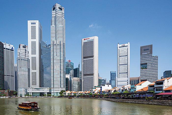 Singapour - Robots dans les hôtels, planification urbaine high-tech, plate-forme collaborative pour envisager la ville demain sous différents angles – santé, services, mobilité, environnement : confrontée à l'exiguïté de son territoire, Singapour cherche des solutions durables pour continuer d'être toujours aussi attractive.© Ludovic Maisant