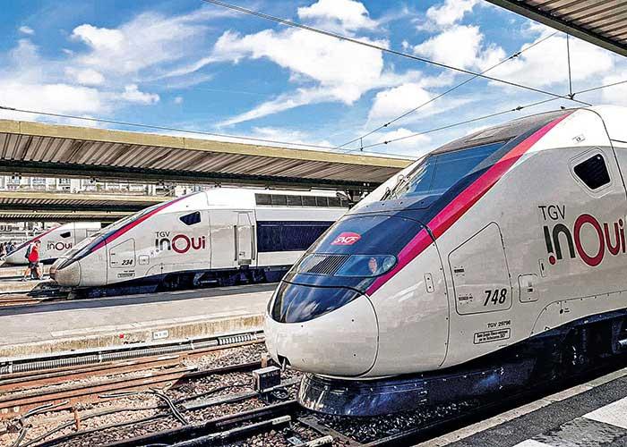 La position dominante de la SNCF sur le marché ferroviaire français ne devrait pas être remise en cause par l'ouverture du marché à la concurrence. Même si plusieurs acteurs lorgnent sur l'axe Paris-Lyon, le plus emprunté par les voyageurs d'affaires. © SNCF